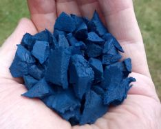 Garuda wire free Blue Rubber Chipping